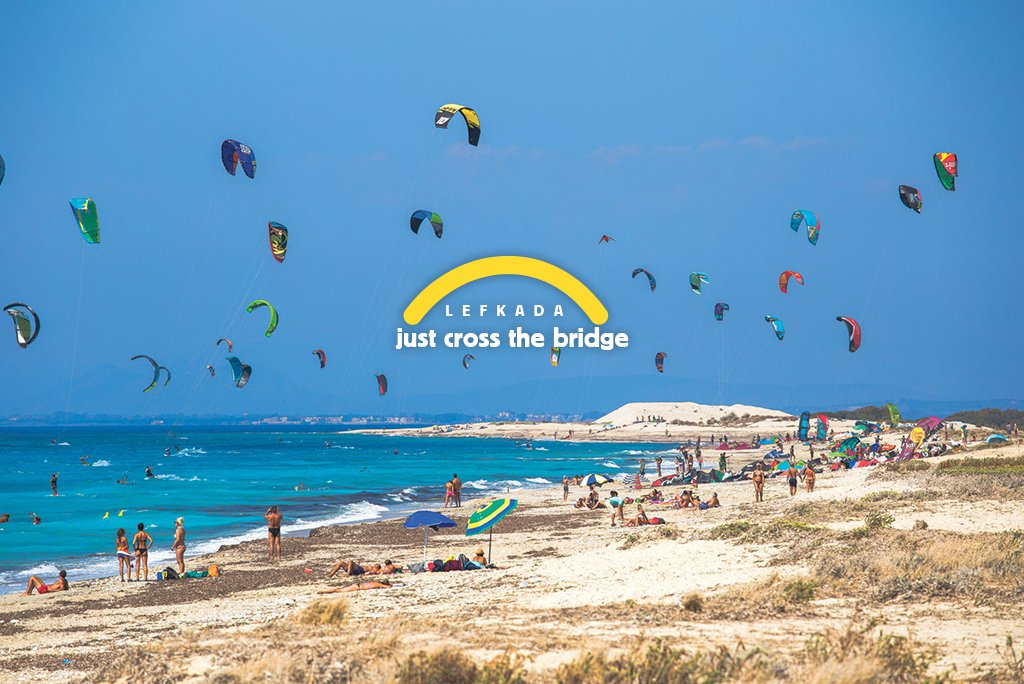 Kite surfing στον Άγιο Ιωάννη | Just cross the bridge