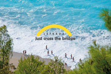 Lefkada, just cross the bridge